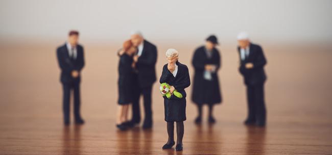 funeral mourner models