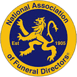 nation association of funeral directors logo