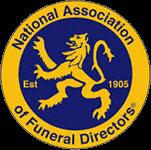 nation association of funeral directors logo