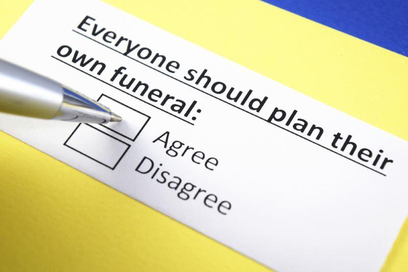 pen close to a checklist